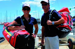 RONSTAN: Wasserfeste Taschen, Ruck/Seesäcke